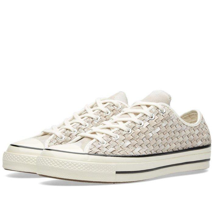 Converse Chuck Taylor AS '70 OX Low Top Sneaker White Black 151245C - Kopensneakers
