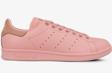 Laden Sie das Bild in den Galerie-Viewer, Adidas Stan Smith BZ0469 Damenschuhe Sneakers rosa Leder