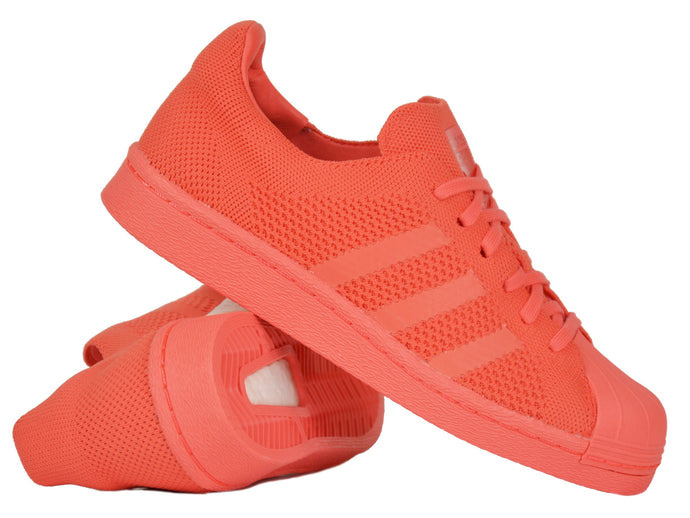 Adidas Originals Superstar Boost Primeknit Turnschuhe Herrenschuhe Rot BZ0128