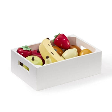 Cagette de fruits en bois - Imitation -