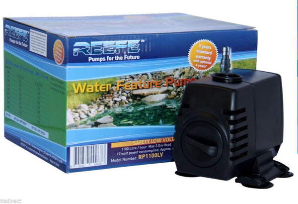 REEFE RP1100LV LOW VOLTAGE FEATURE PUMP