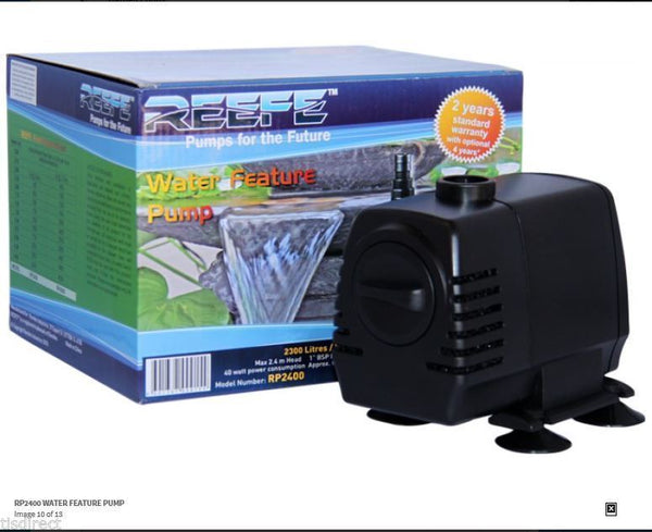 REEFE RP2400 FEATURE PUMP - 2 YEAR GUARANTEE