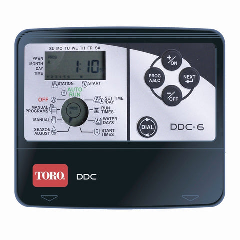 TORO-DDC-6-STATION-INDOOR-IRRIGATION-CONTROLLER-300805924997