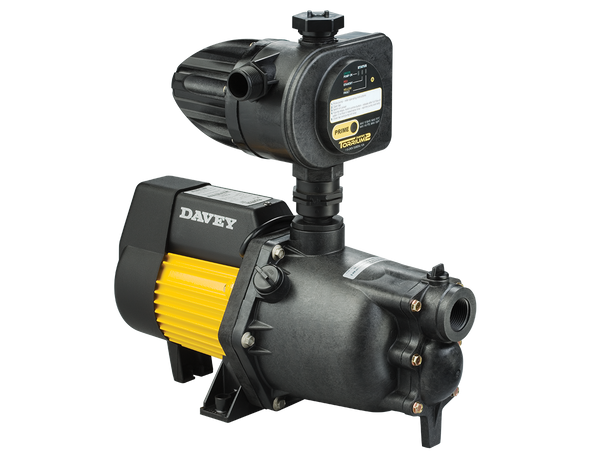 DAVEY JET ASSISTED PRESSURE PUMP WITH TORRIUM CONTROL XJ70T