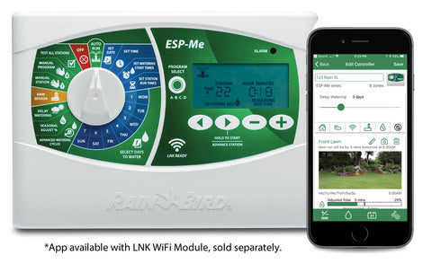 RAIN BIRD ESP-Me 4 MODULAR to 22 STATION OUTDOOR CONTROLLER Wifi ENABLED www.tisonlinestore.com