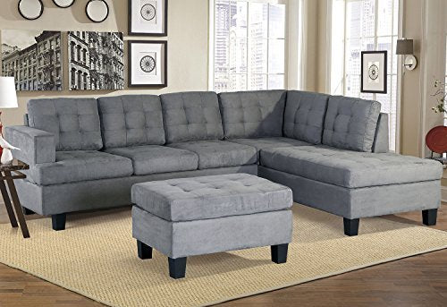 3 sofas In Living Room