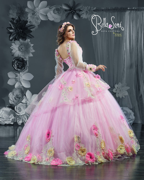 *Choosing a Quinceanera Dress if you're Very tall and broad shoulders*