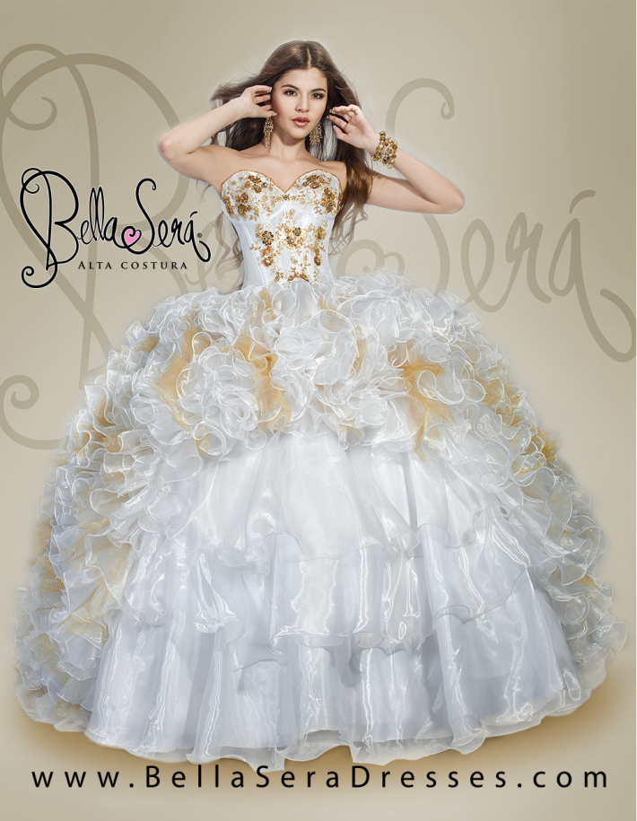 QUINCEANERA DRESS BS - Style 1403 - bella-sera-dresses.com