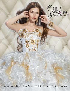 Quinceañera Dress Style BS-1403 - bella-sera-dresses.com
