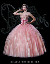 Load image into Gallery viewer, Quinceañera Dress Style BS-1501A - bella-sera-dresses.com