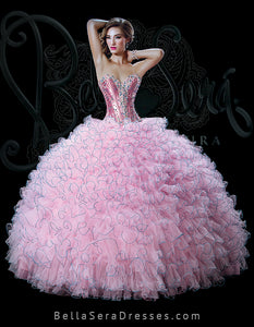 QUINCEANERA GOWN BS - Style 1504 - bella-sera-dresses.com