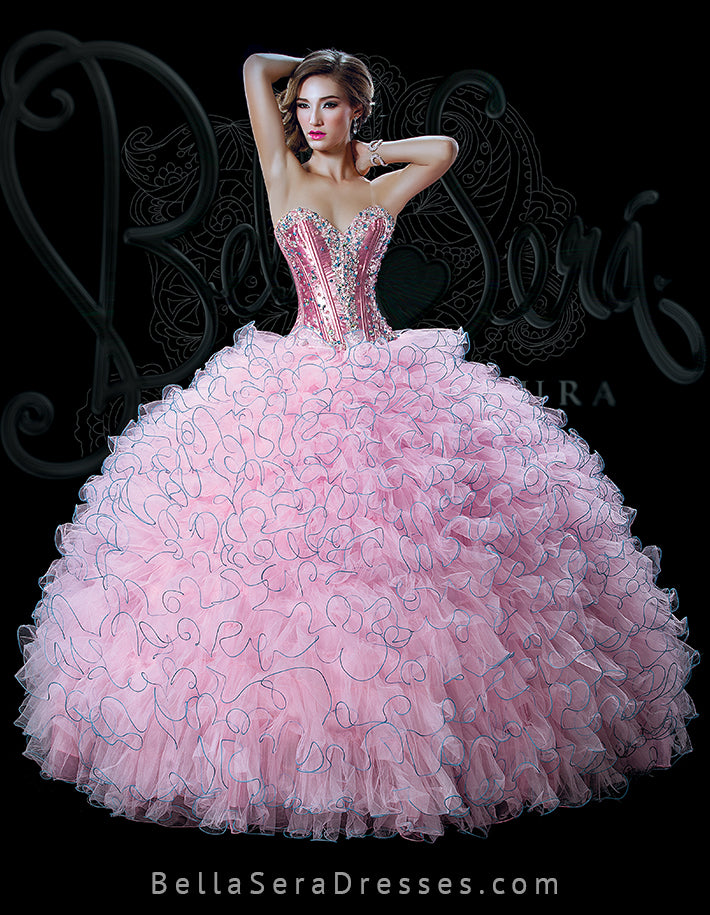 Quinceañera Dress Style BS-1504 - bella-sera-dresses.com