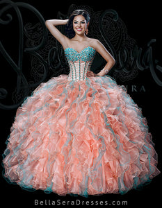 Quinceañera Dress Style BS-1525T - bella-sera-dresses.com