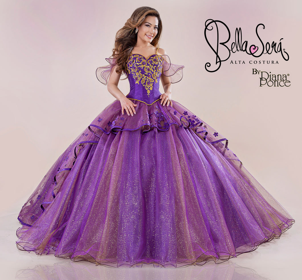 Quinceañera Dress Style BS-1802 - bella-sera-dresses.com