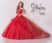 Load image into Gallery viewer, Quinceañera Dress Style 1802 Red - bella-sera-dresses.com