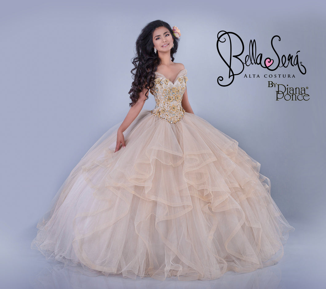 Quinceañera Dress Style BS-1803 - bella-sera-dresses.com