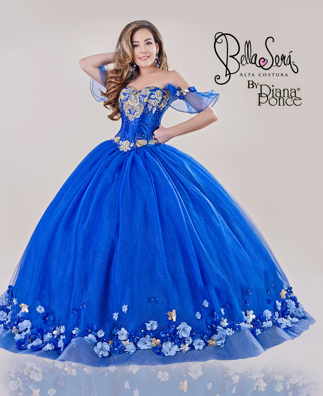 Quinceañera Dress Style BS-1901 - bella-sera-dresses.com