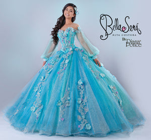 Quinceañera Dress Style BS-1904 - bella-sera-dresses.com