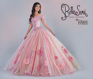 Quinceañera Dress Style BS-1905 - bella-sera-dresses.com