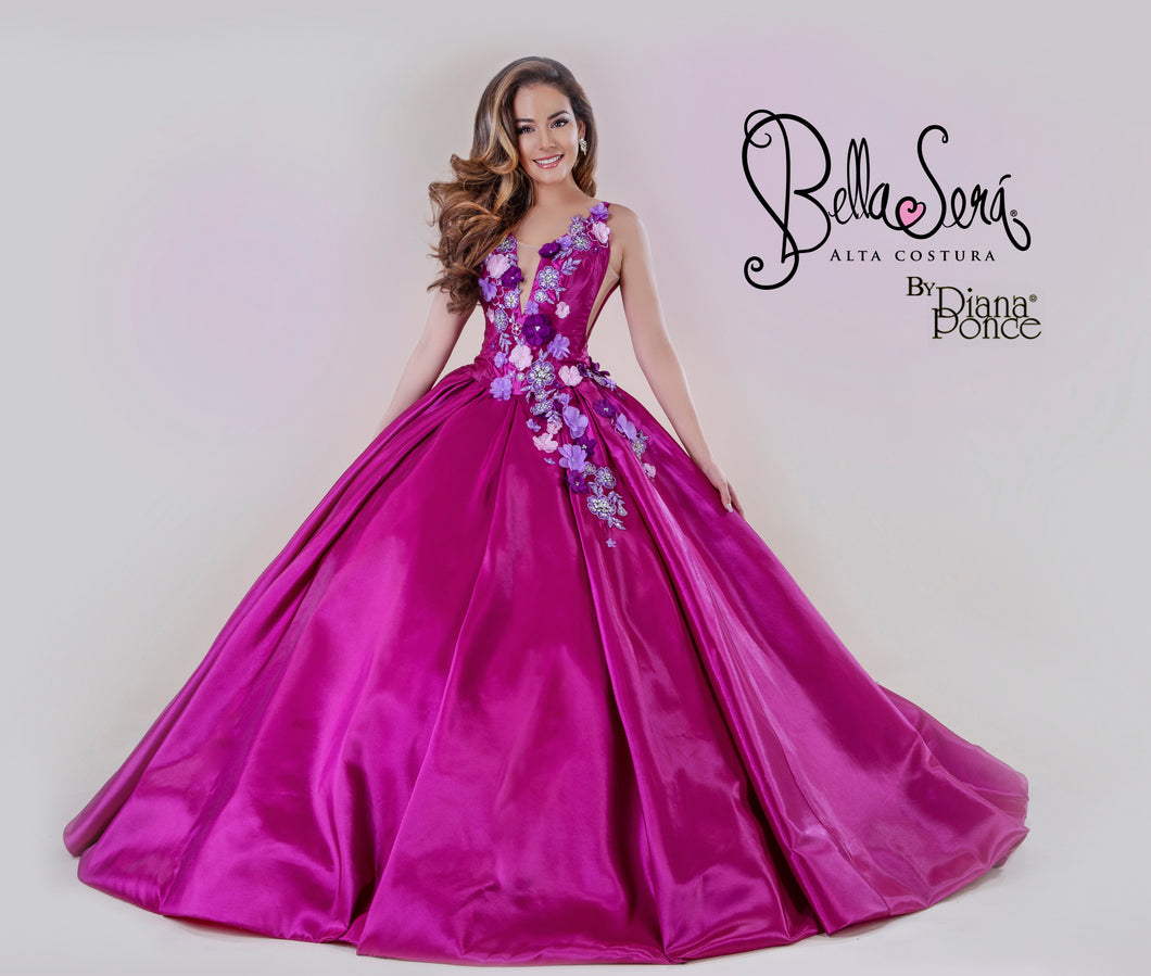 Quinceañera Dress Style BS-1907 - bella-sera-dresses.com