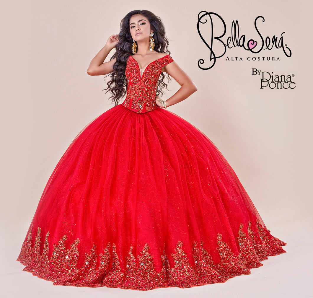 Quinceañera Dress Style BS-1908 - bella-sera-dresses.com