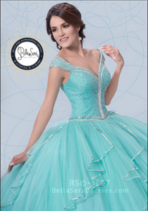 Quinceañera Dress Style BS-3007 - bella-sera-dresses.com