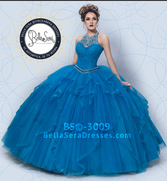 QUINCEANERA DRESS BS - Style 3009 - bella-sera-dresses.com