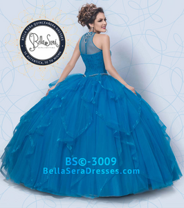 Quniceañera Dress Style BS-3009 - bella-sera-dresses.com