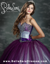 Load image into Gallery viewer, QUINCEANERA GOWN BS - Style 1155 - bella-sera-dresses.com