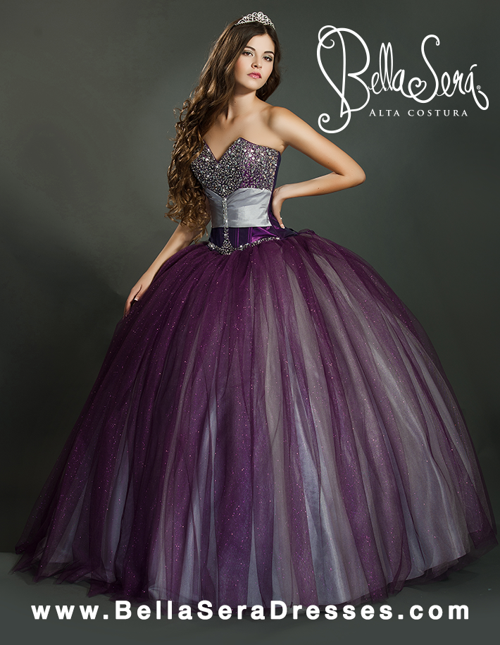 QUINCEANERA GOWN BS - Style 1155 - bella-sera-dresses.com