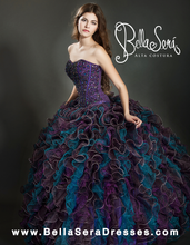 Load image into Gallery viewer, QUINCEANERA GOWN BS - Style 1352 - bella-sera-dresses.com