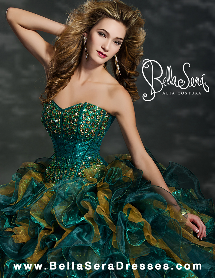Quinceañera Dress Style BS-1353 - bella-sera-dresses.com