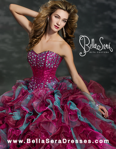 QUINCEANERA GOWN BS - Style 1353 - bella-sera-dresses.com