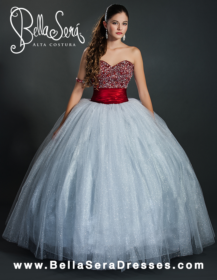 QUINCEANERA GOWN BS - Style 1355 - bella-sera-dresses.com