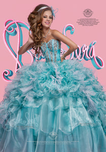 QUINCEANERA DRESS BS - Style 1405A - bella-sera-dresses.com