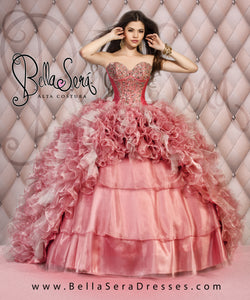 QUINCEANERA DRESS BS - Style 1405B - bella-sera-dresses.com