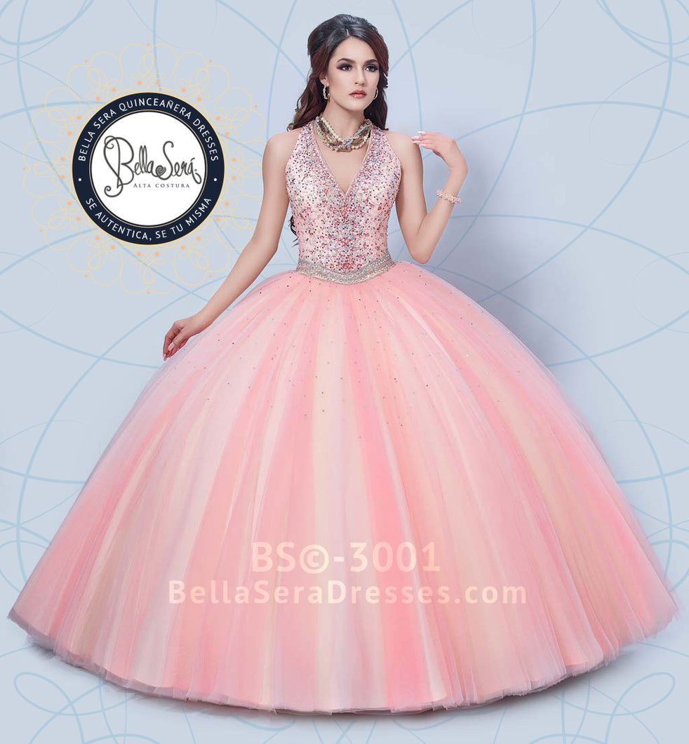 QUINCEANERA DRESS BS - Style 3001 - bella-sera-dresses.com