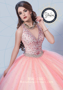 Quinceañera Dress Style BS-3001 - bella-sera-dresses.com