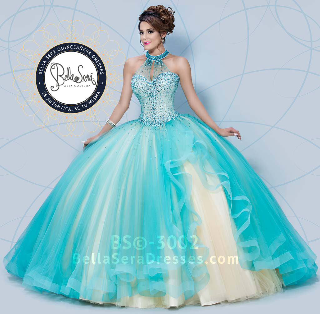 QUINCEANERA DRESS BS - Style 3002 - bella-sera-dresses.com