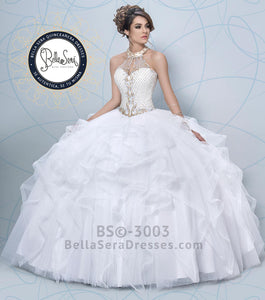 Quinceañera Dress Style BS-3003 - bella-sera-dresses.com