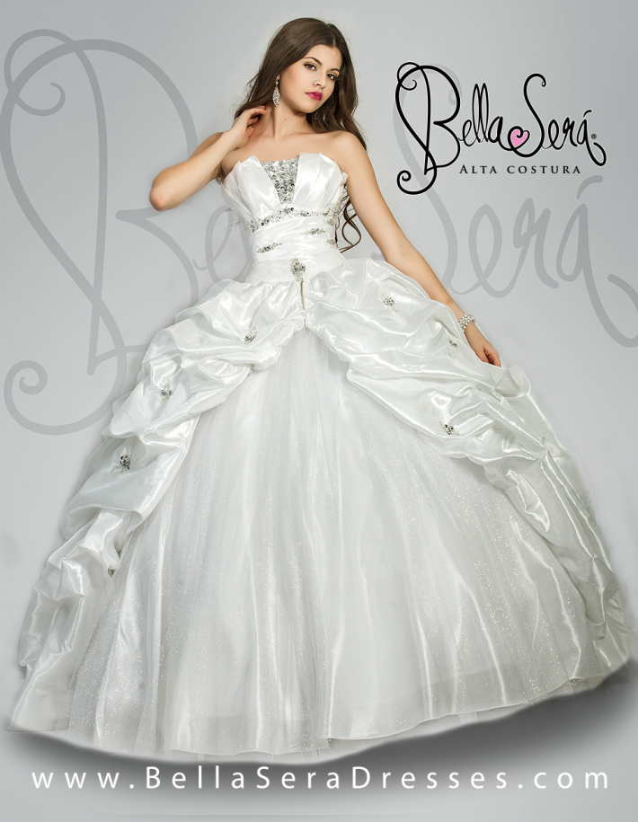 QUINCEANERA DRESS BS - Style 1401E - bella-sera-dresses.com