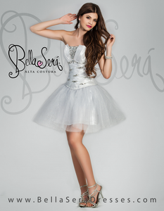 Quinceañera Dress Style BS-1401E - bella-sera-dresses.com