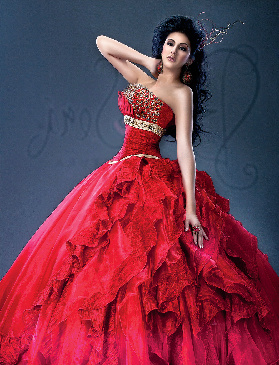 Quinceañera Dress Style BS-040 - bella-sera-dresses.com