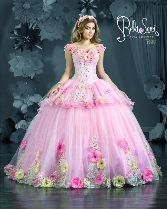 QUINCEANERA DRESS Style 1801