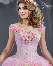 Load image into Gallery viewer, Quinceañera Dress Style 1801/  3D Beaded Flowers - bella-sera-dresses.com