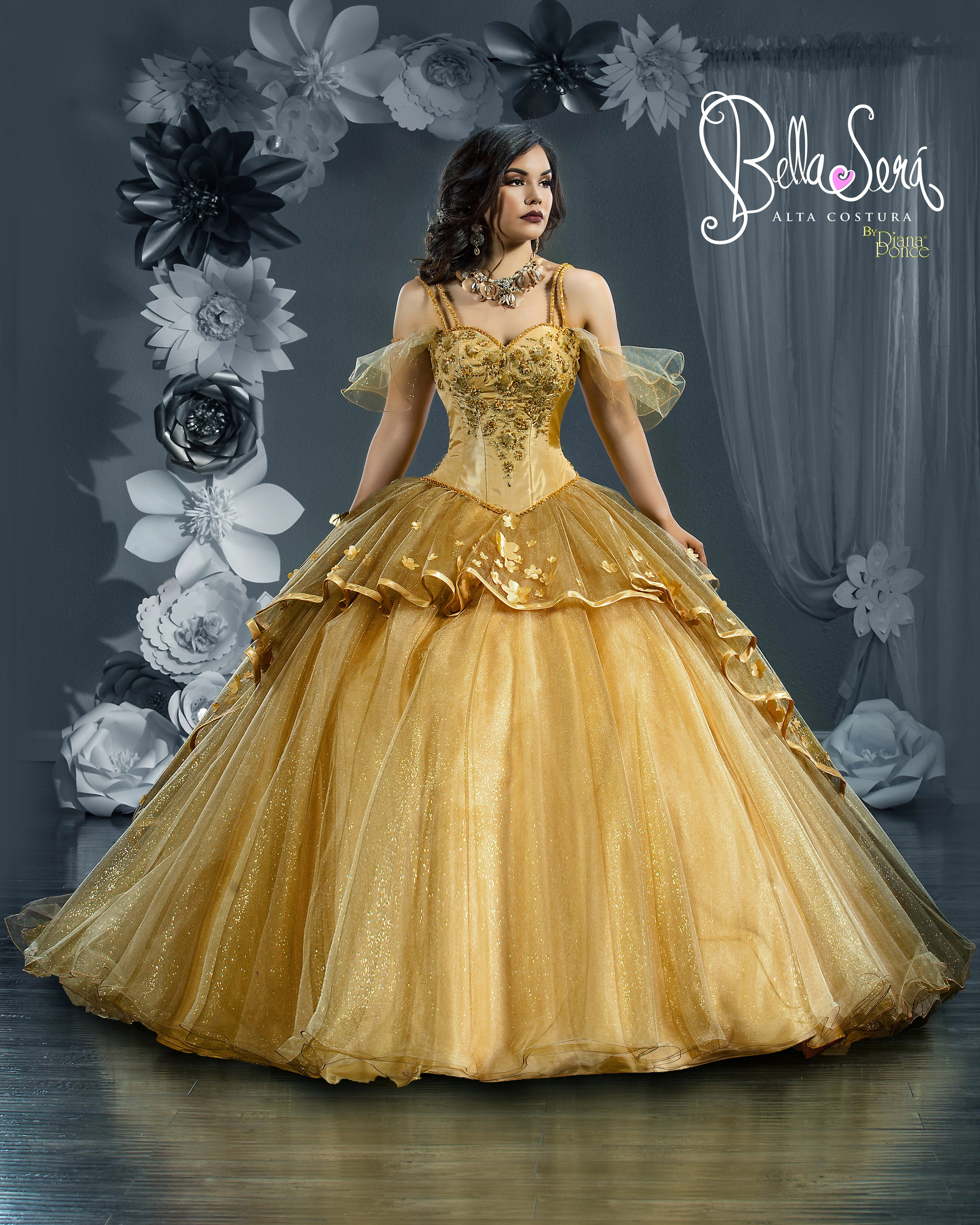 Quinceañera Dress Style 1802 - bella-sera-dresses.com