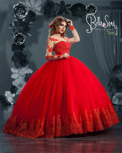 Quinceañera Dress Style BS-1809 - bella-sera-dresses.com