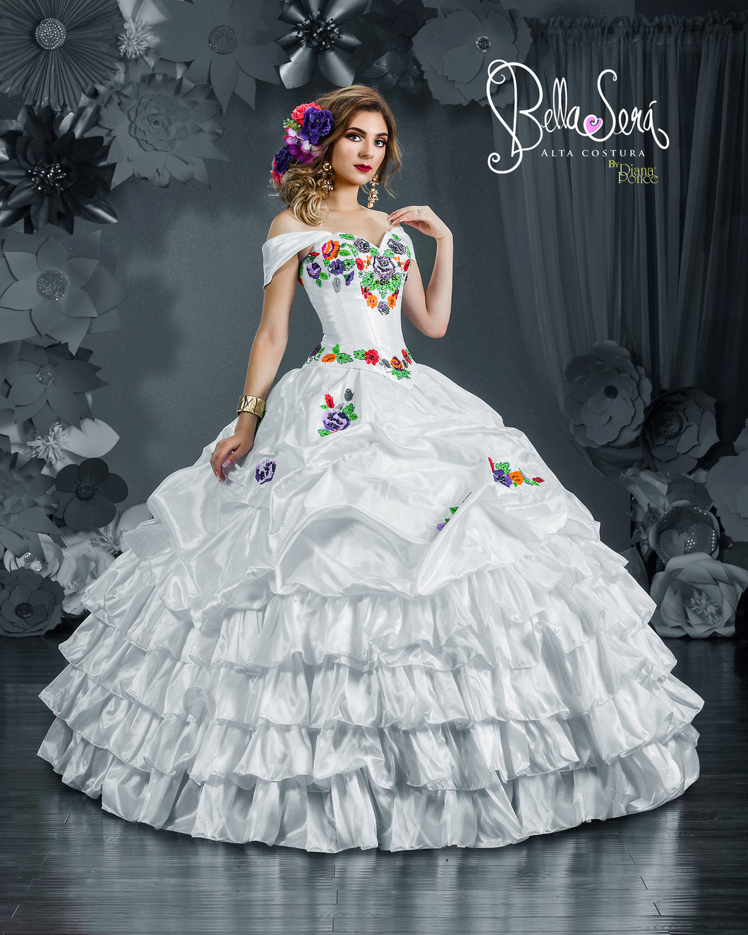 QUINCEANERA DRESS Style 1811 - bella-sera-dresses.com