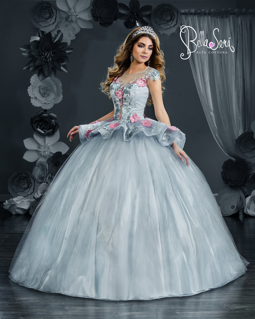 QUINCEANERA DRESS Style 1813 - bella-sera-dresses.com