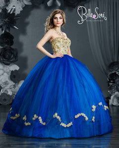 Quinceañera Dress Style BS-1856 - bella-sera-dresses.com